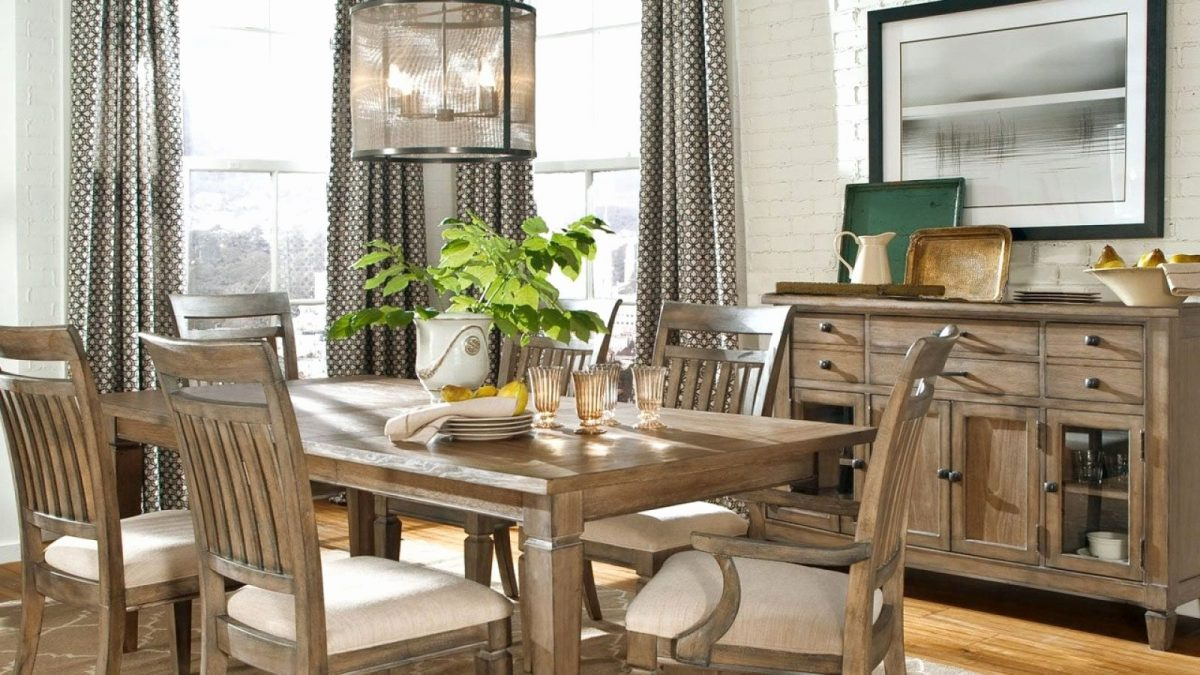 An example of a dining set from Farmers Home Furniture.