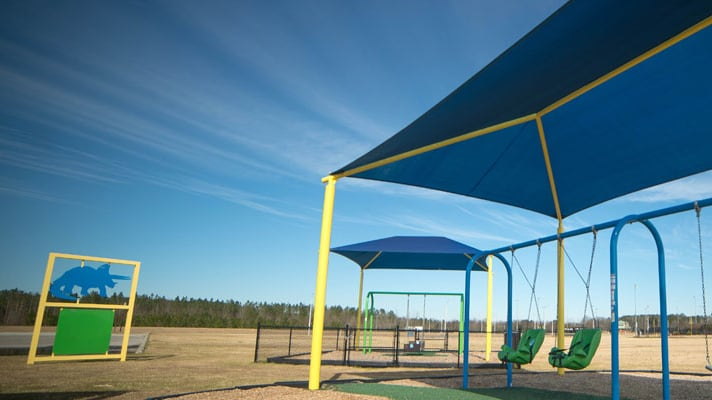 A photo of Garrison's place, a special needs playground in Hartsville. Photo via The Byerly Foundation.