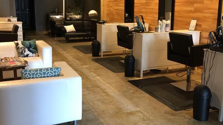 The interior Colours salon.
