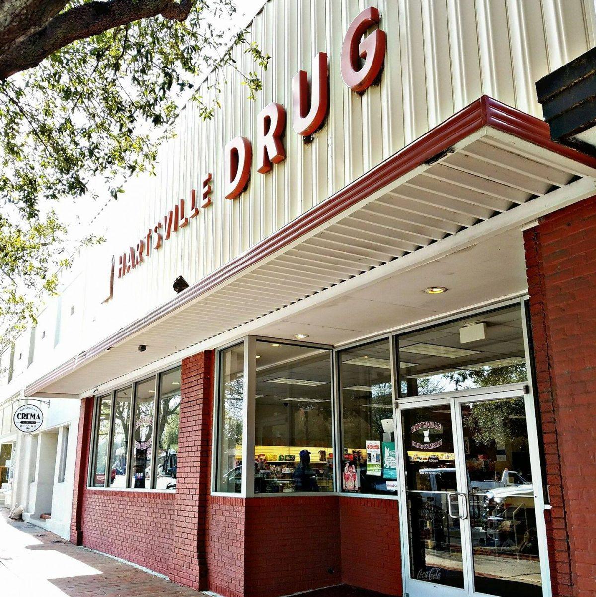 The Hartsville Drug Company Storefront on West Carolina Ave.