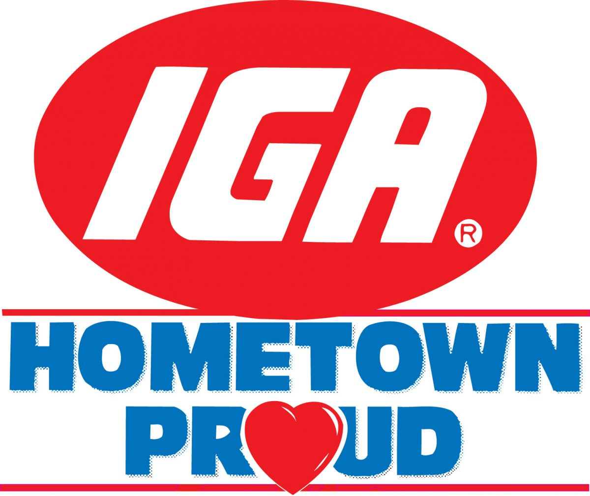 IGA's Hometown Proud logo