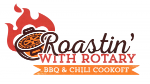 Banner image for the Roasting' with Rotary event.