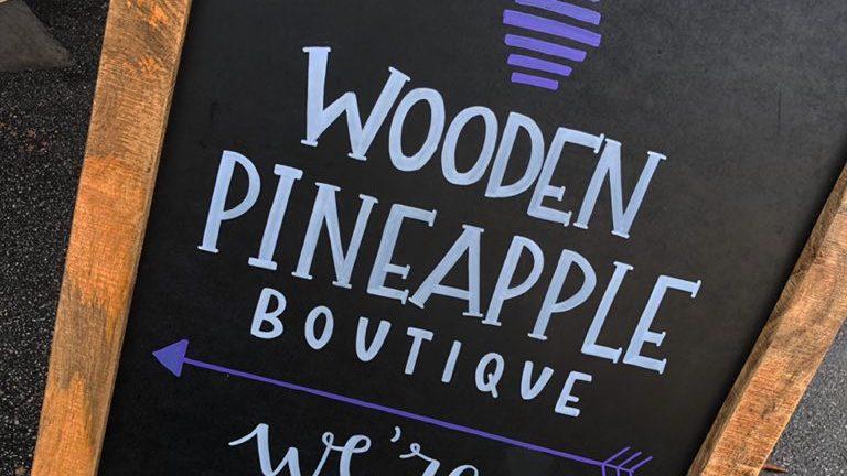 Hartsville's Wooden Pineapple Boutique: Now Open!