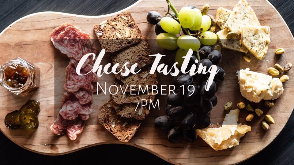 Retrofit cheese tasting Nov 19th