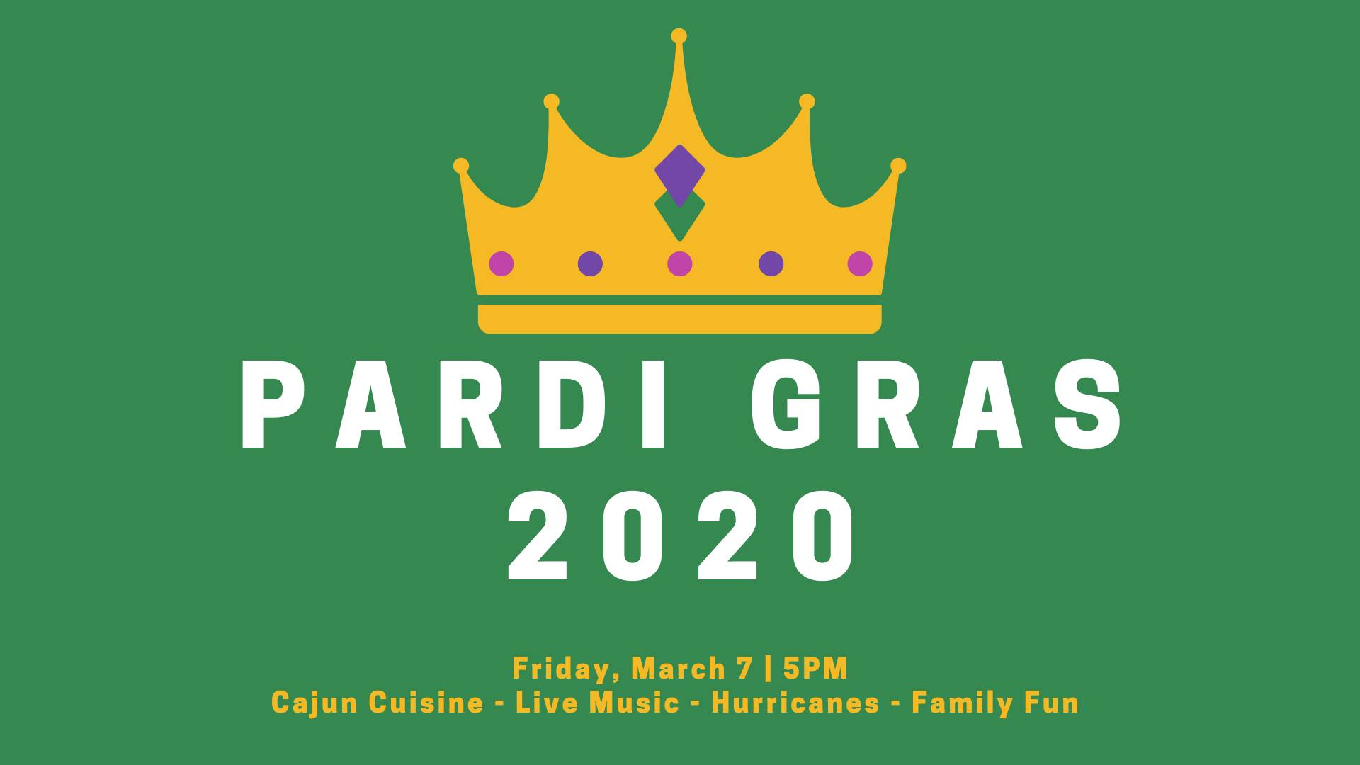 Pardi Gras at Retro March 6 2020