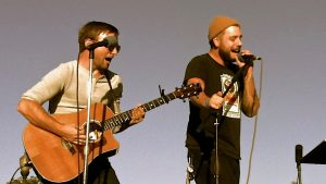 Andy O'Neal and Zach Riner performing live